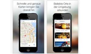 Google Maps für iOS,