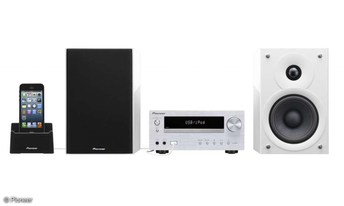 DVD-System, Pioneer, iDevices, Lautsprecher
