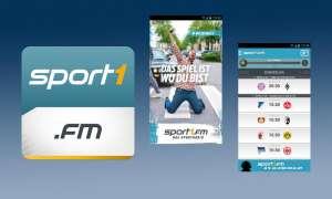 Sport1.fm ist per App auf iOS- und Android-Geräten empfangbar.