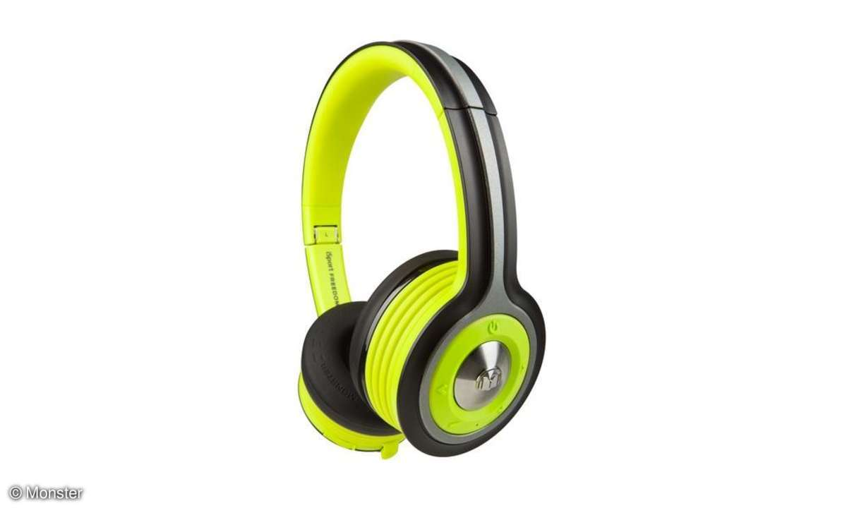 Kopfhörer, Monster, iSport Freedom