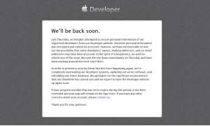 Apple informiert die iOS-Entwickler über den Hackerangriff.