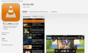 Der VLC-Player ist zurück im App-Store.