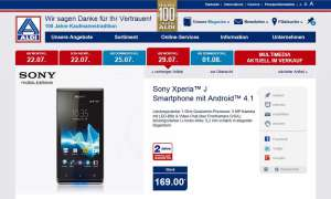 Aldi Nord,Sony Xperia J