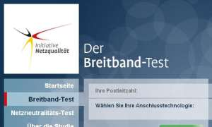 Bundesnetzagentur will Speedtest durchführen
