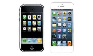 Erste und aktuelle Generation: Das iPhone von Apple