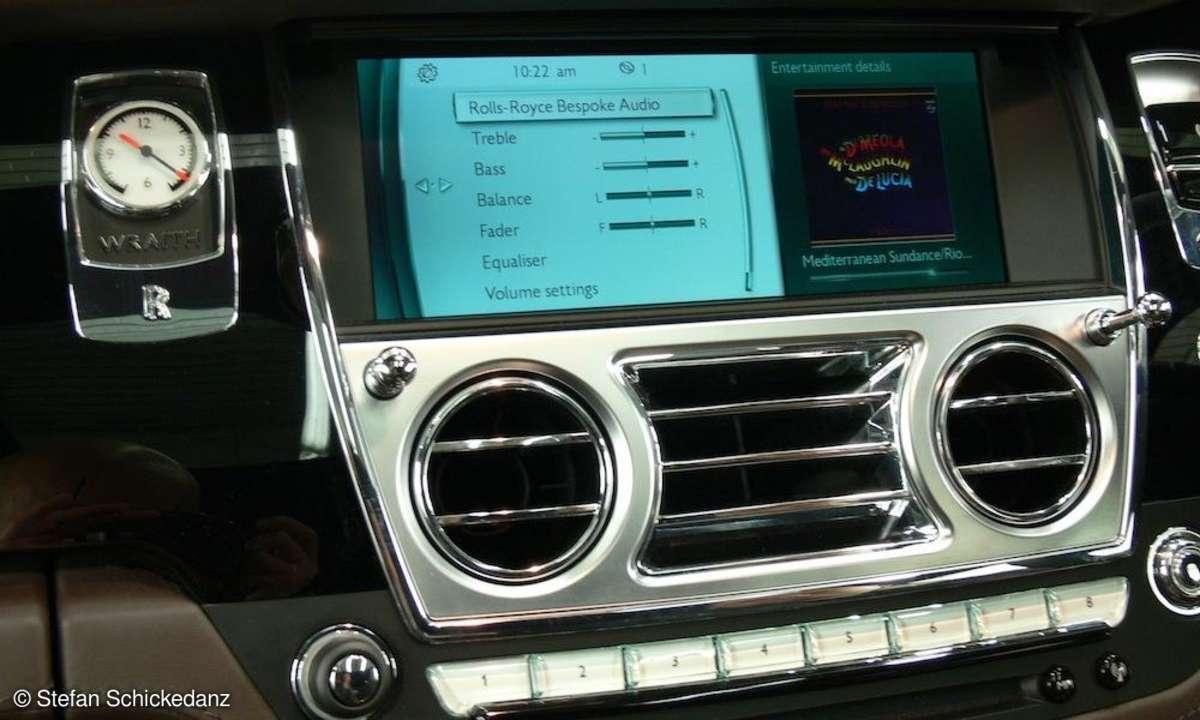 Gracenote im Rolls-Royce