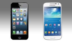 Apple iPhone 5 und Samsung Galaxy S4 mini