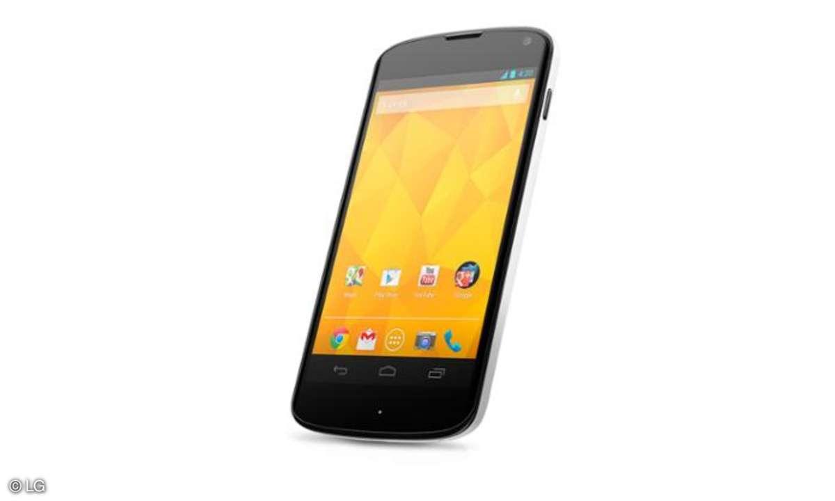 LG Nexus 4,Google Nexus 4,weiß