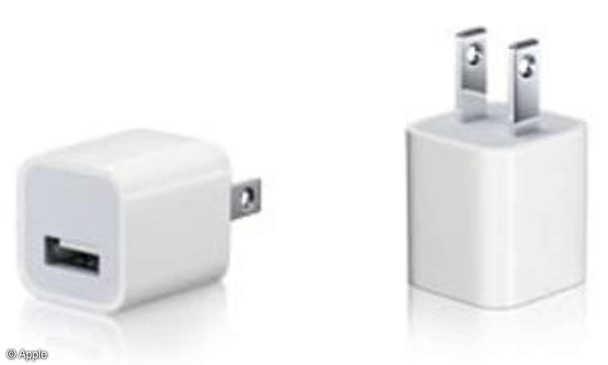Apple Adapter Netzteil Rückruf