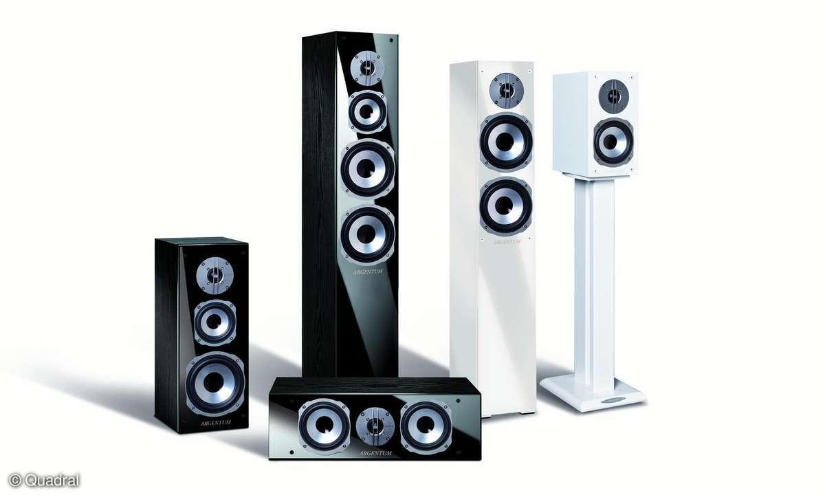 Quadral, Argentum-Lautsprecher, Seidenhochtöner
