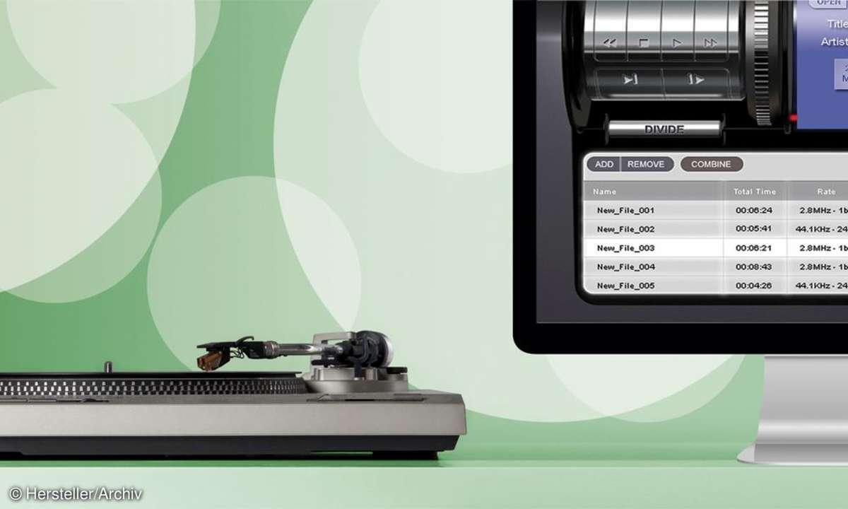 Vinyl zu DSD digitalisieren