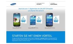 Samsung, S4-Aktion