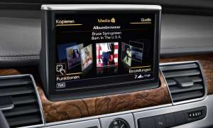 Audi A8 L Entertainment-System