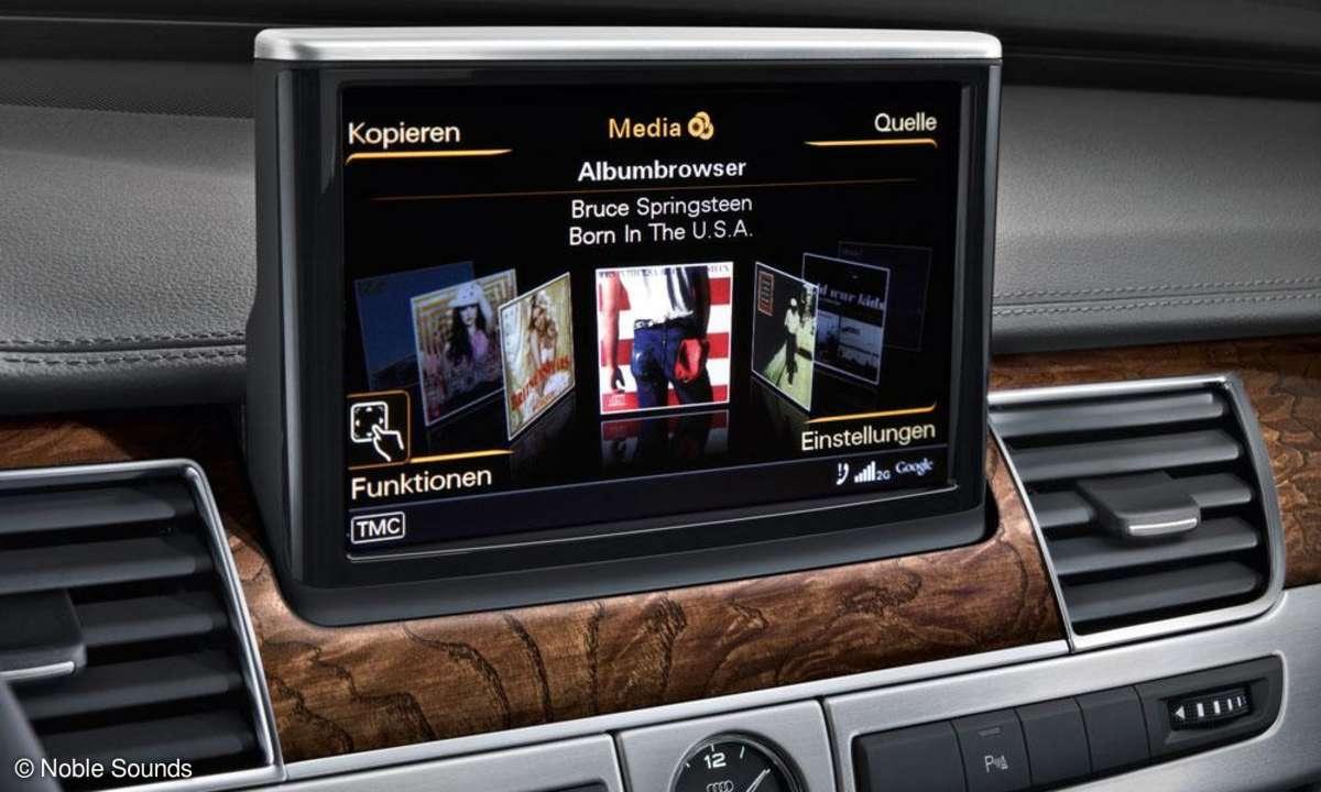 Audi A8 L Entertainment-System
