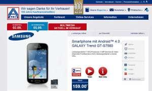 Samsung Galaxy Trend, Aldi-Nord
