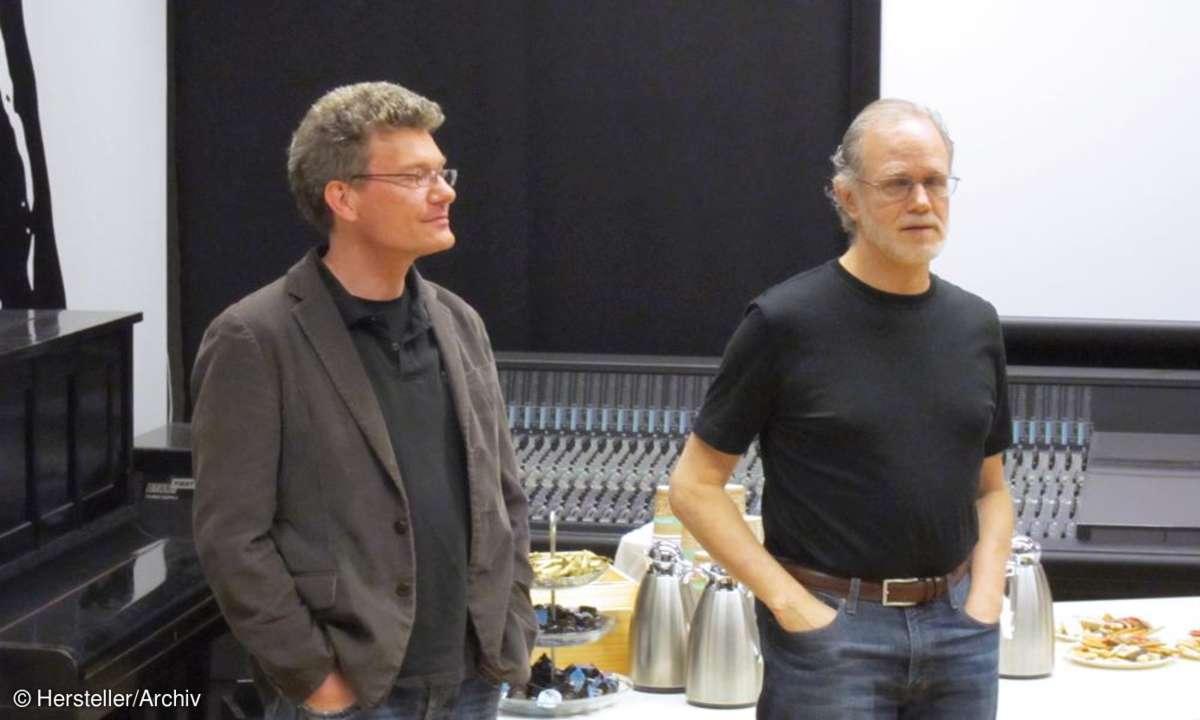 Christoph Stickel und Bob Katz