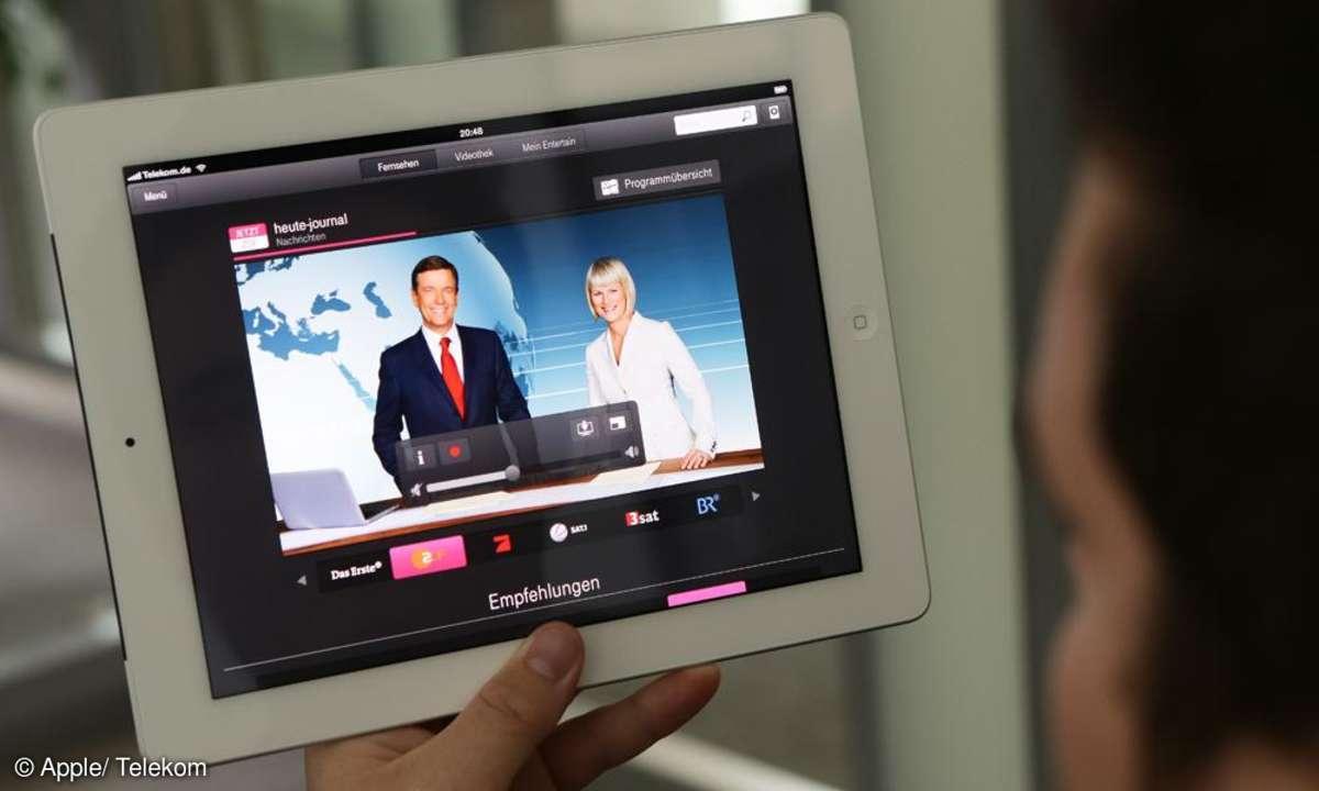 Ipad TV und Videos