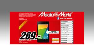 Media Markt,Aktion,Nexus 7