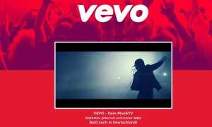 Nach GEMA-Einigung: Der Musikvideodienst Vevo startet nun auch in Deutschland