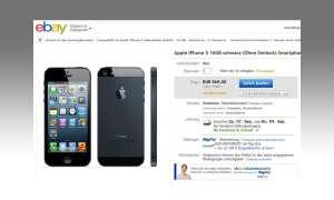 Handy bei Ebay verkaufen