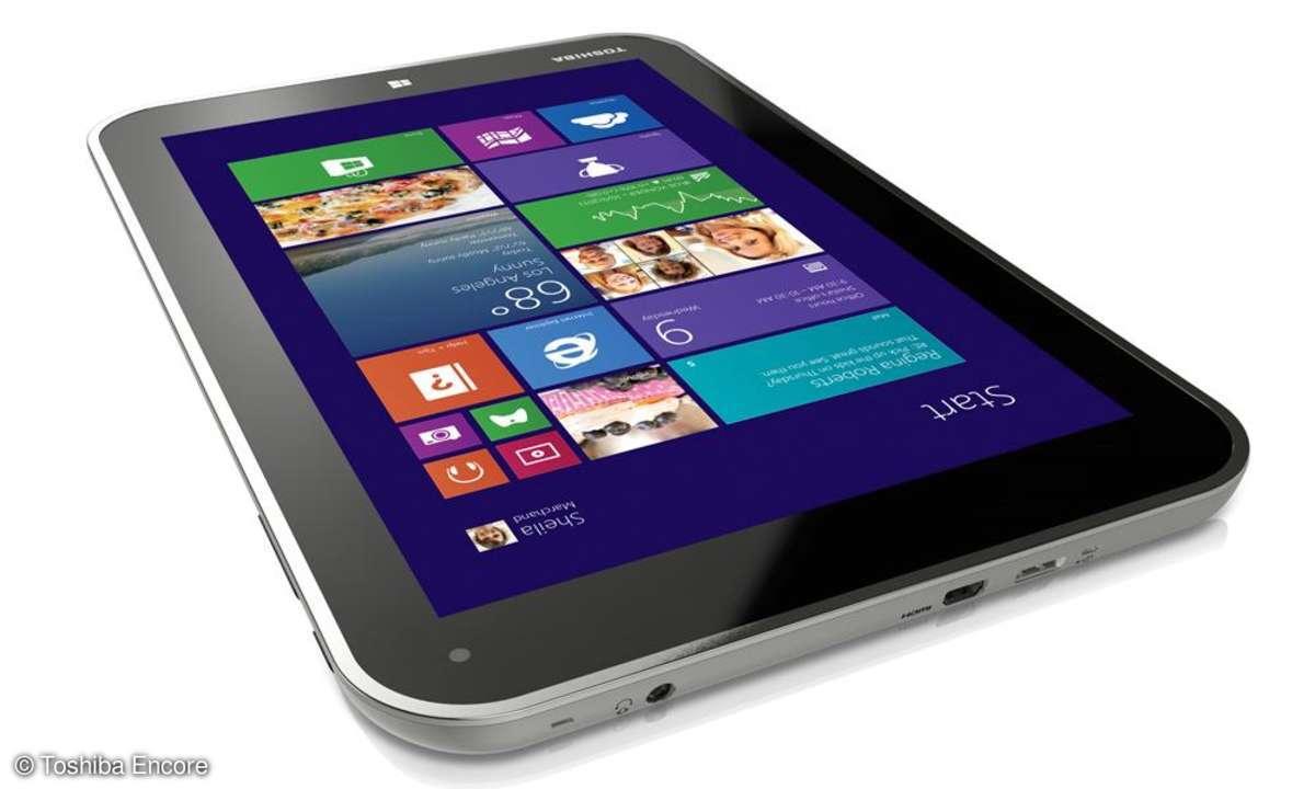 Das 8-Zoll-Tab setzt auf Windows 8.1 und Microsoft Office