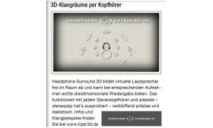 Headphone Surround 3D