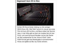 Auro-3D im Kino