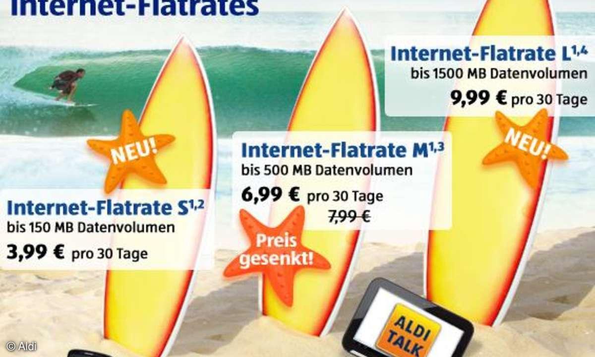 Aldi Talk Internet Flatrate