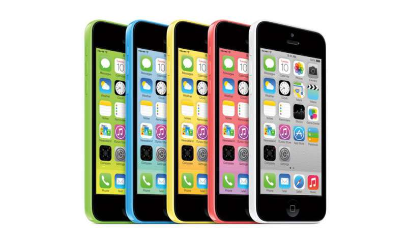 how to connect to itunes on iphone 5c