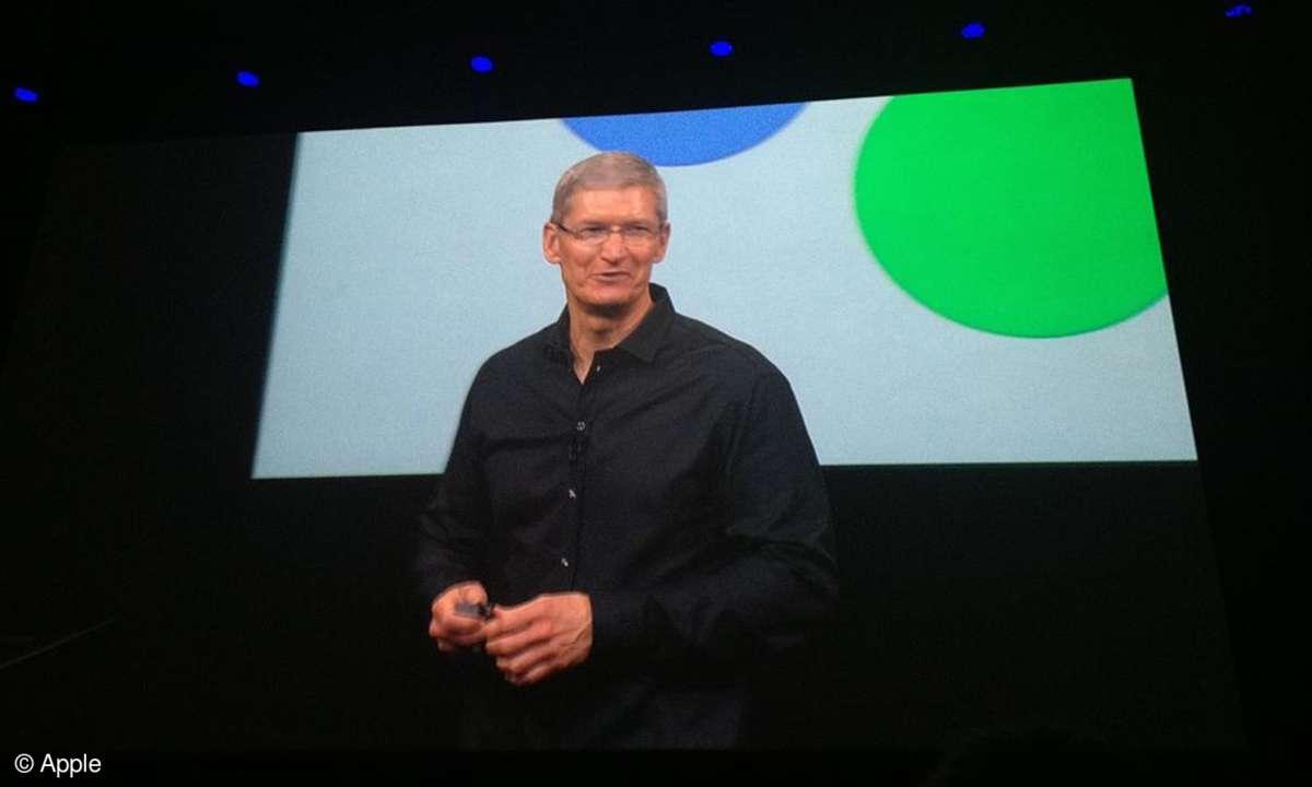 Tim Cook Keynote 2013