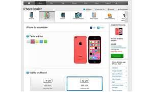 Apple Store, iPhone 5c