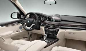Edel: Innenraum des BMW X5