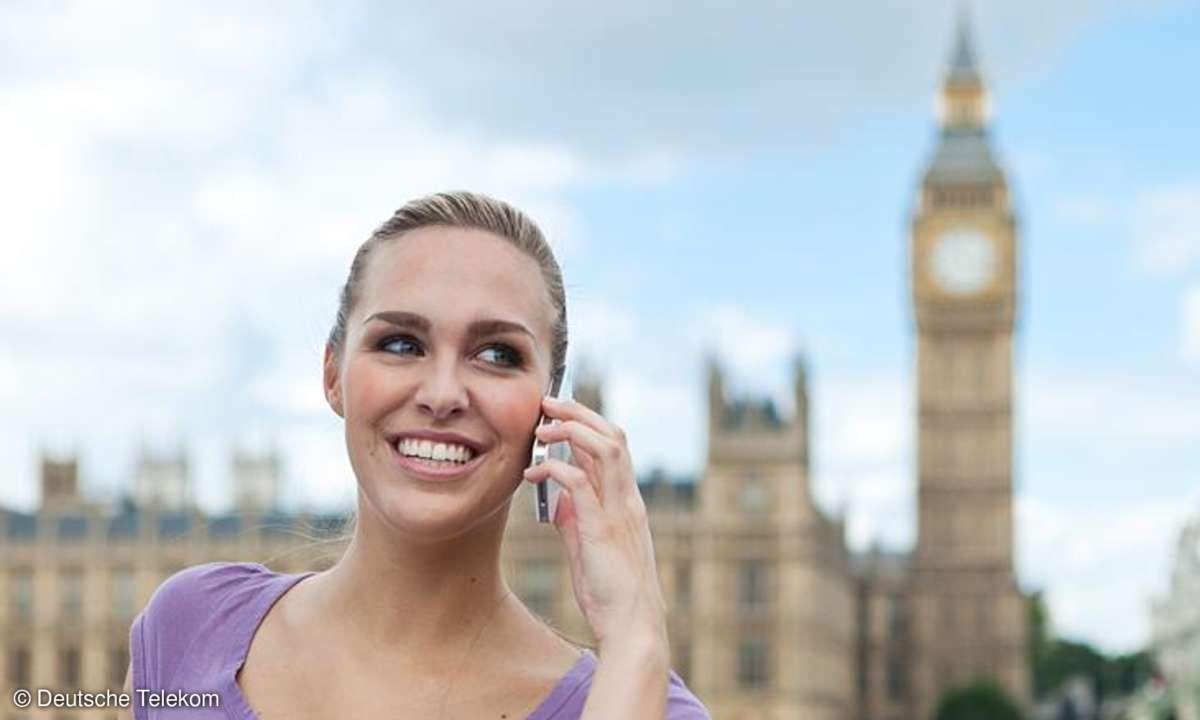 Telekom Telefonieren Big Ben London