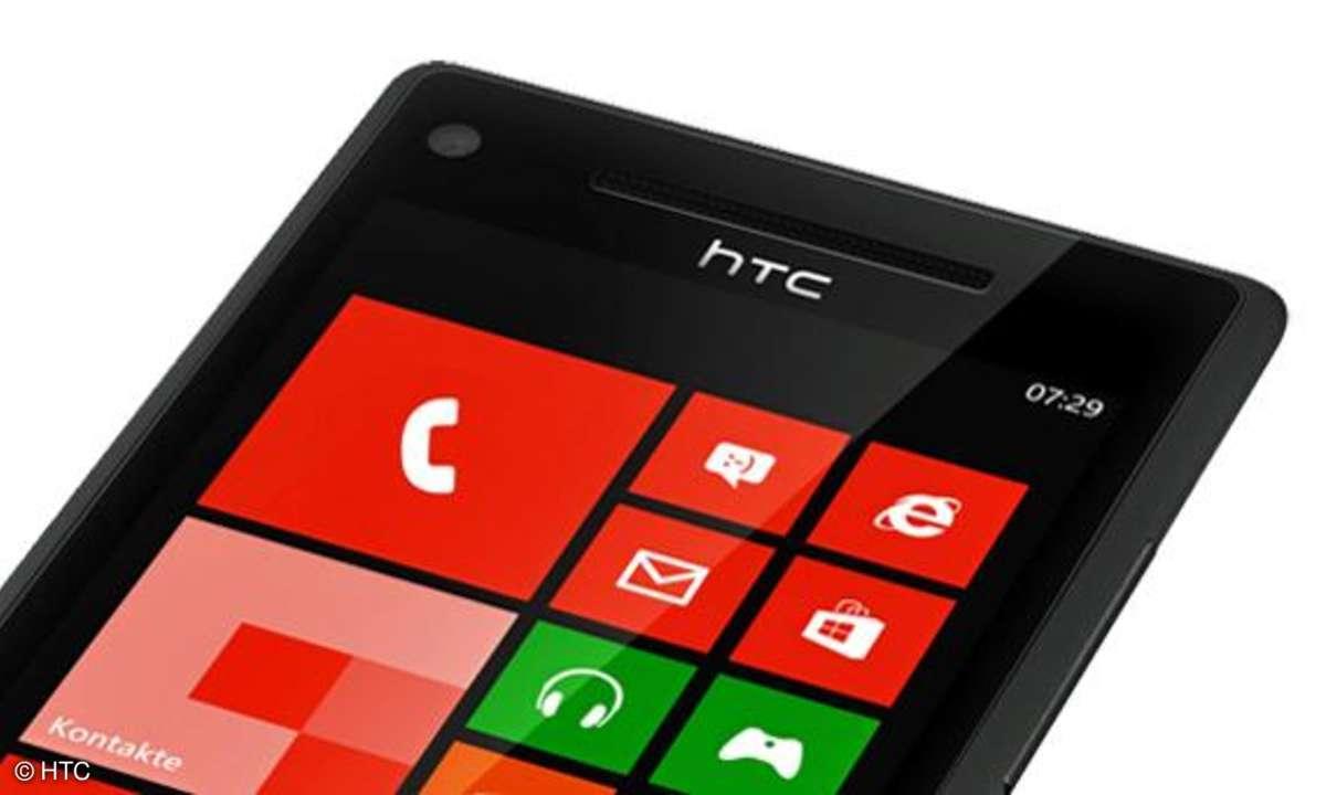 HTC 8X, Windows Phone