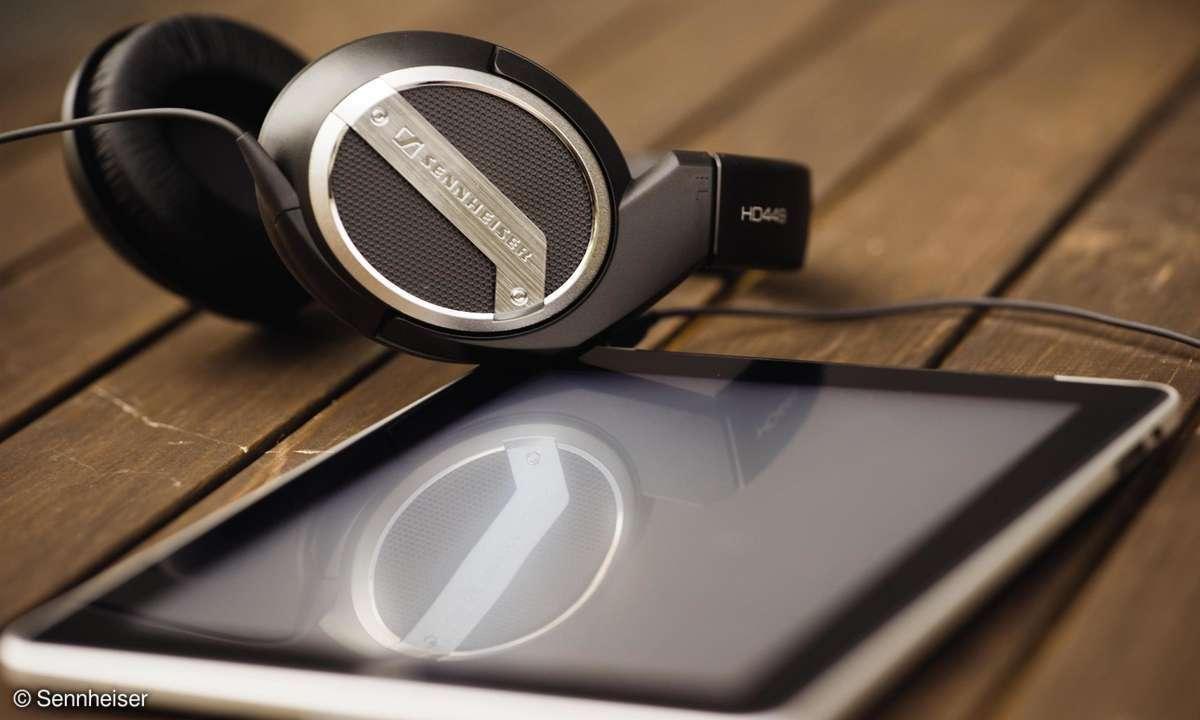 Sennheiser Kopfhörer für Tinnitracks