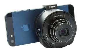 Sony Lens auf iPhone