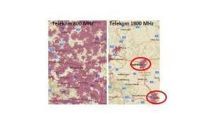 LTE 800 vs. 1800 MHz