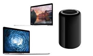 Apple Mac Pro & MacBook Pros