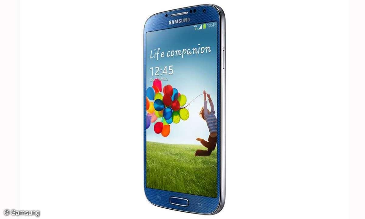 Samsung Galaxy S4,blau