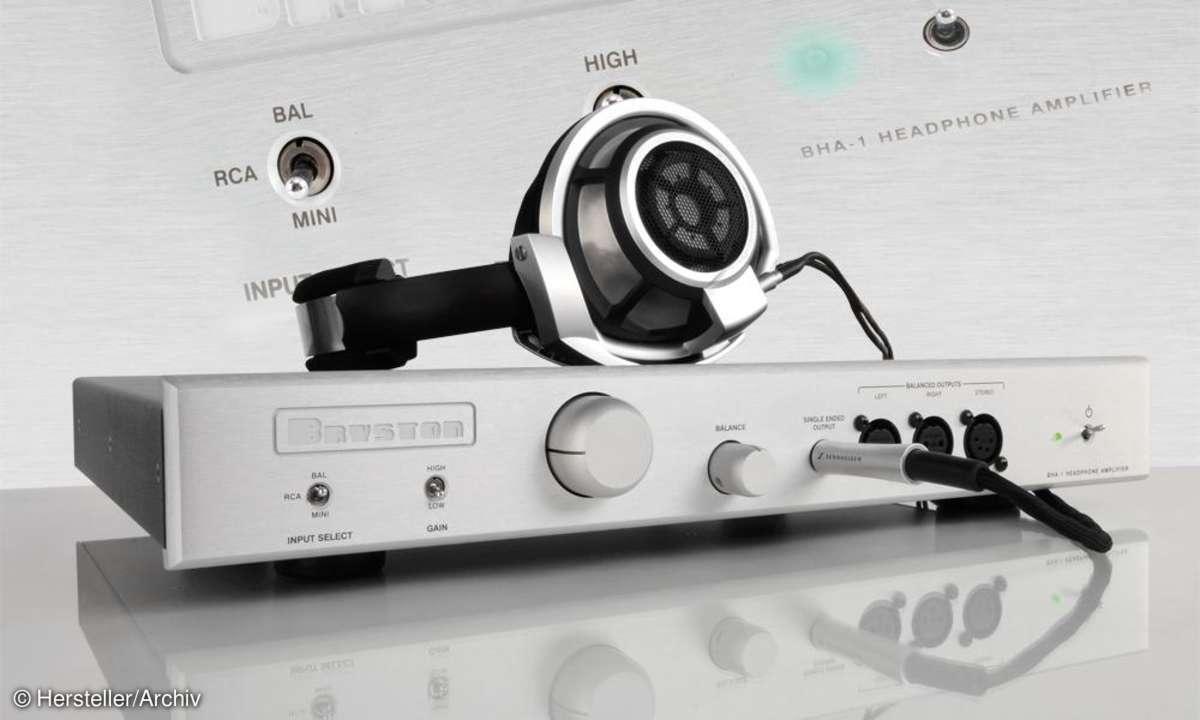 Bryston BHA-1 mit Sennheiser HD-800