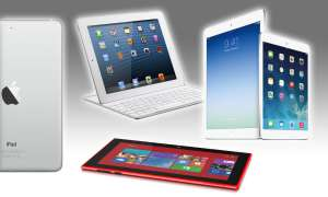 iPad Air, iPad Mini 2, Lumia 2520