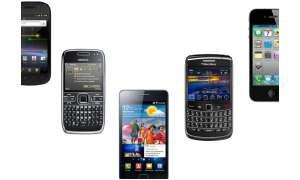 Die 10 Smartphones mit dem besten Akku.