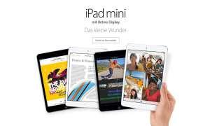 iPad mini 2 Release Date verschoben