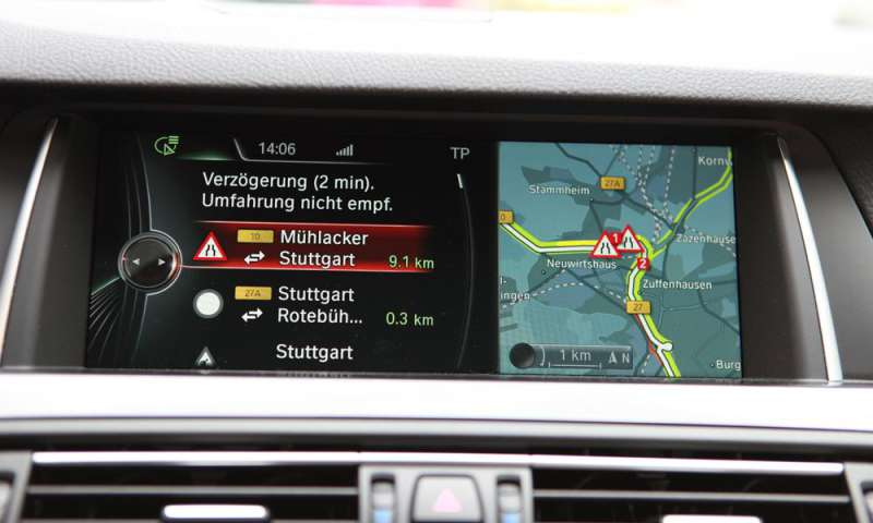 BMW Connected Drive >> BMW 5er Navigation Professional - connect