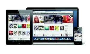 iPad 15 Inch, iPhone 5, iTunes