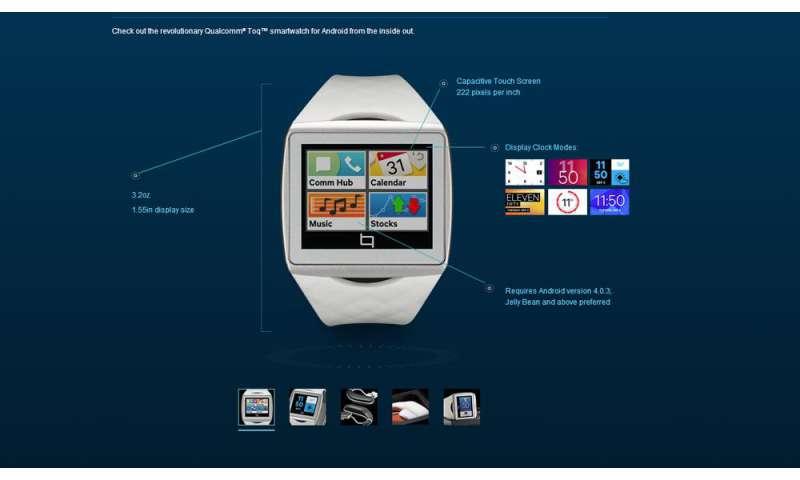 Qualcomm Toq: Alle Infos zur Smartwatch für Android-Phones ...