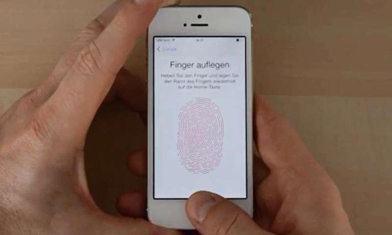 Hat Iphone C Fingerabdruck