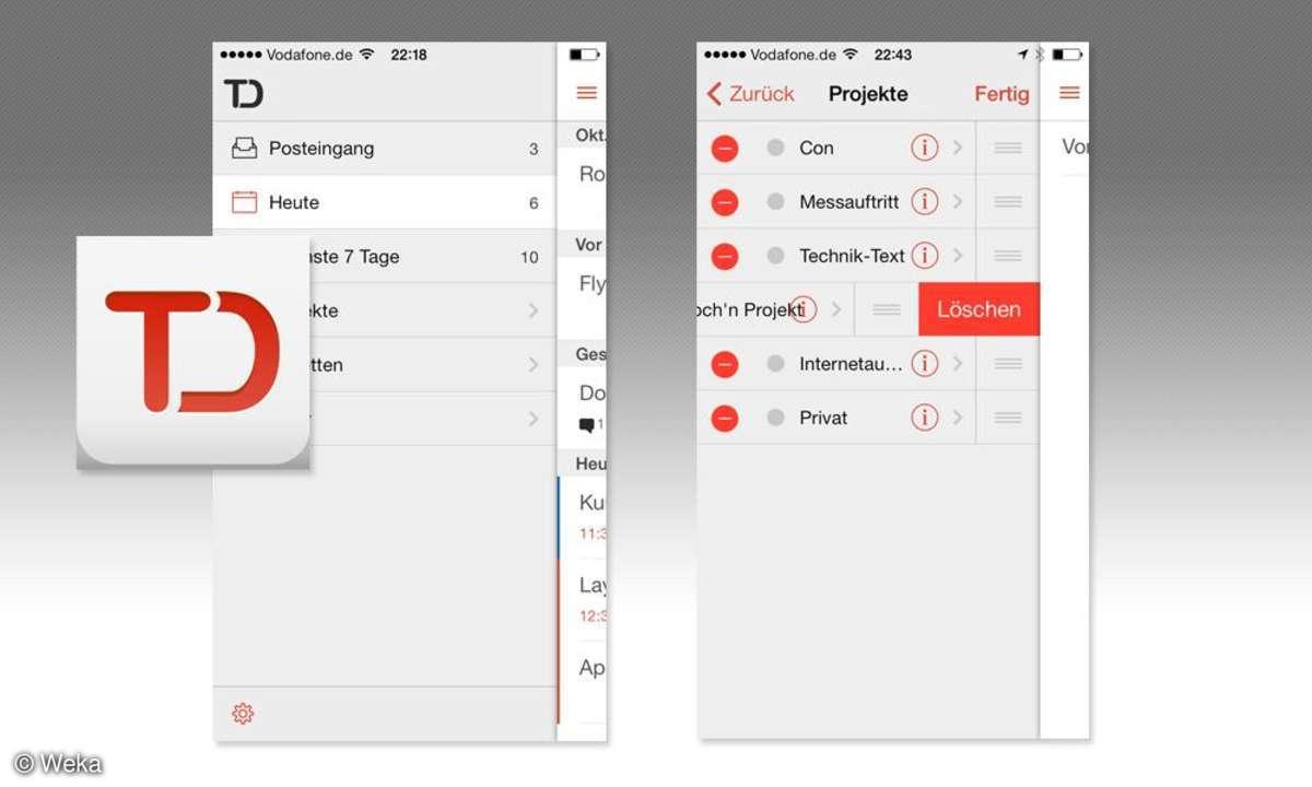 Todist Aufgabenliste App