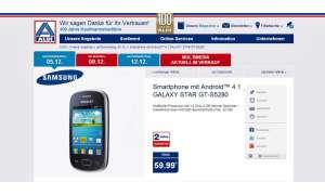 Samsung Galaxy Star,Aldi Nord