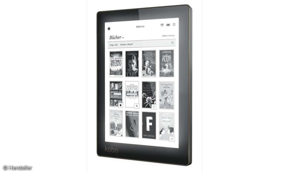Ebook Reader, Kobo Aura